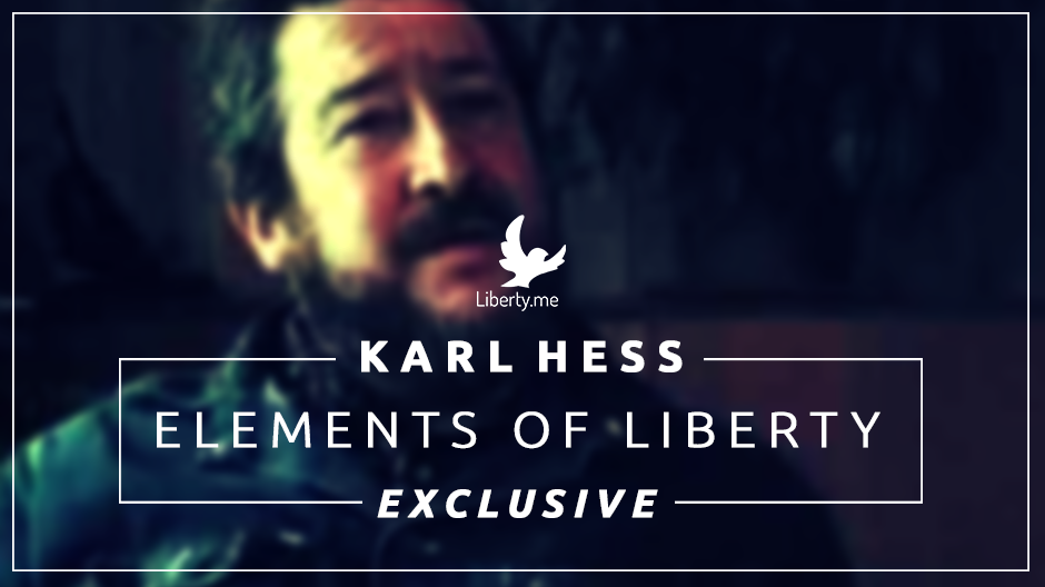EXCLUSIVE VIDEO: Karl Hess on Elements of Liberty, Practice of Liberty (1 of 5)